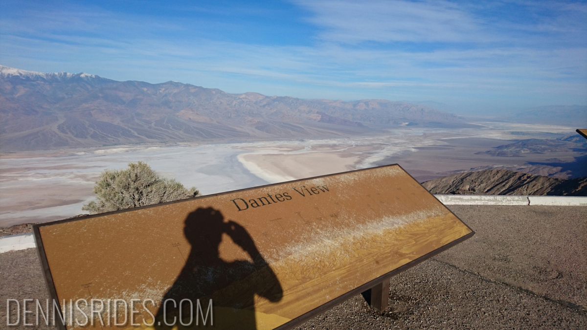Death Valley Ride Report: Day 4, Dante's View